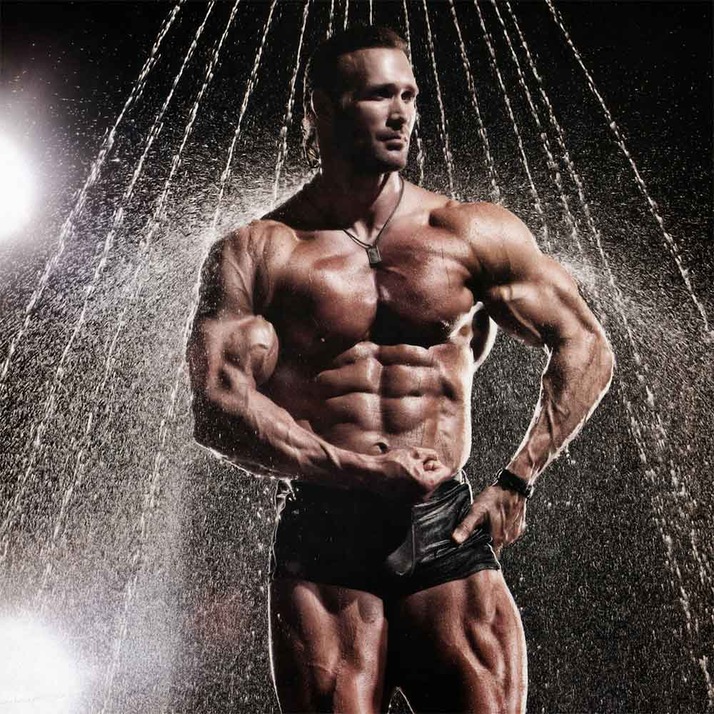 Mike ohearn American Gladiator and ultimate bodybuilding physique.