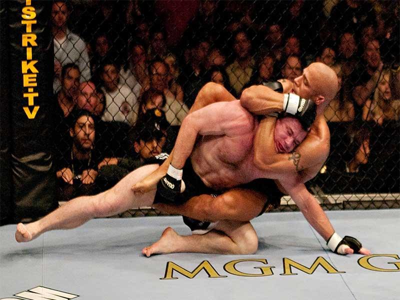 Matt Hughes Vs Frank Trigg USA fighters