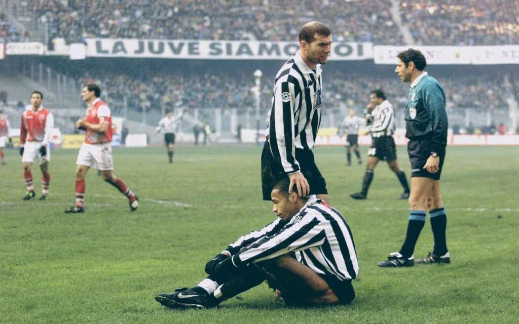Thierry Henry Spell At Italian Giants Juventus