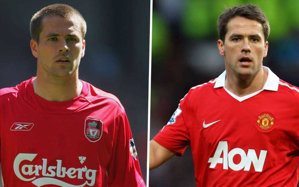 Michael Owen Liverpool and Man U ex striker