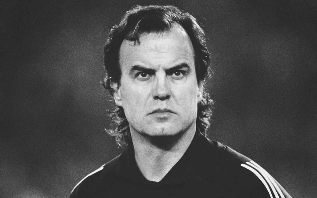 Marcelo Bielsa Young Football player