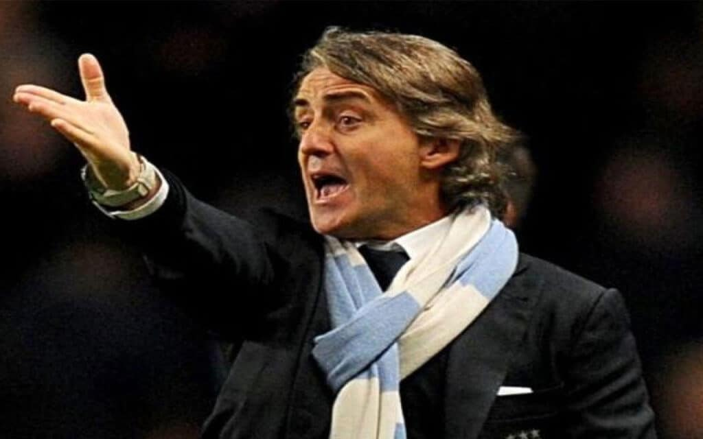 Roberto Mancini Manchester City Football Club Manager