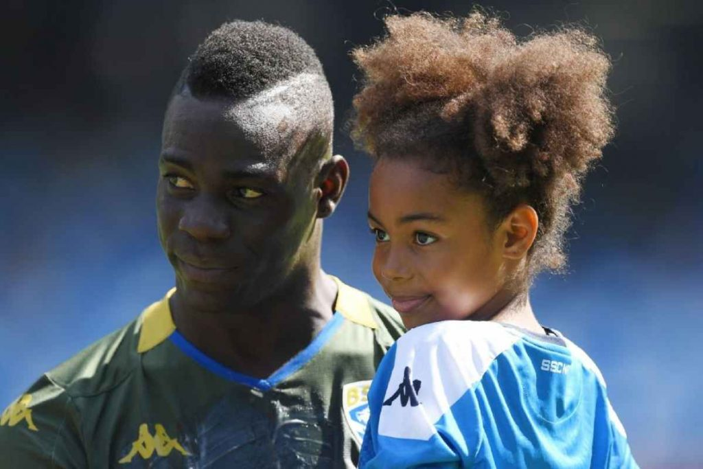 Mario Balotelli daughter (Pia Balotelli) & family